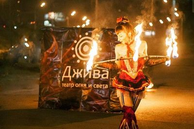 Театр огня и света ДЖИВА - Оригинальный жанр или шоу  -  -  photo