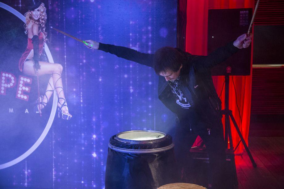 Барабанное шоу Drummatica - Оригинальный жанр или шоу  - Москва - Московская область photo