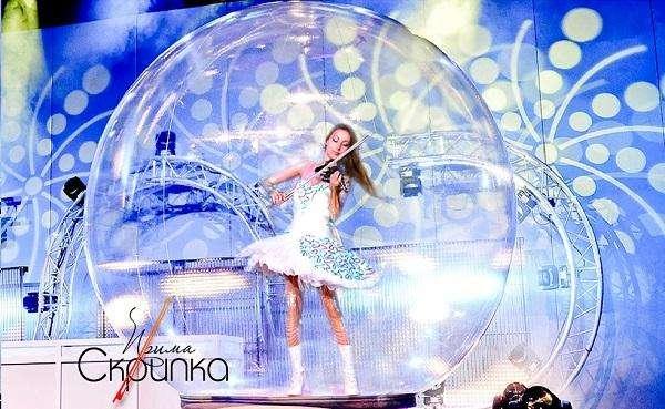 Музыканты в шаре- скрипка, арфистка, саксофон - Музыкант-инструменталист  - Москва - Московская область photo
