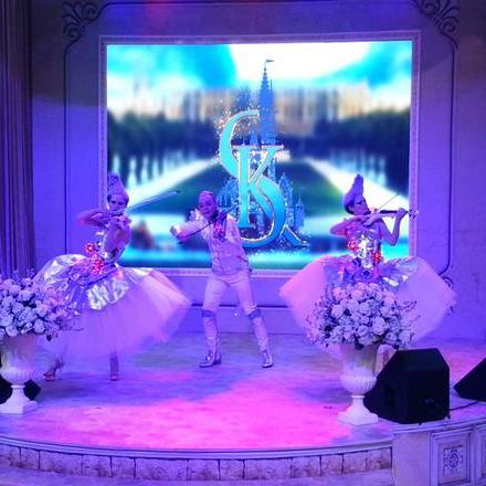 """Закажите выступление Скрипичное трио  """"Галактика""""  на свое мероприятие в Москва"""