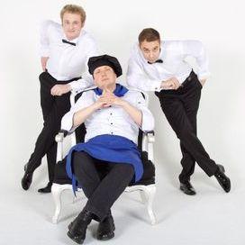 Шоу «Поющие Официанты» - Музыкальная группа , Москва,  Кавер группа, Москва Альтернативная группа, Москва