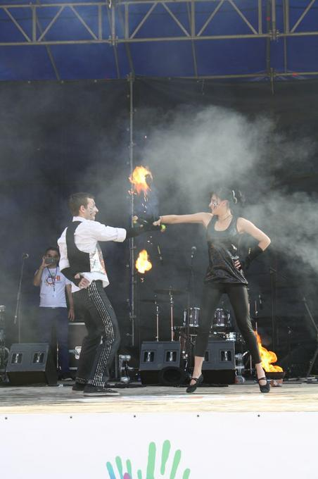 Огненный перформанс -  - Киев - Киевская область photo