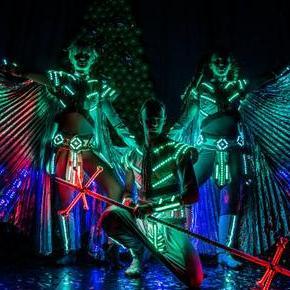 Огненное шоу КОТ - Оригинальный жанр или шоу , Киев,  Фаер шоу, Киев