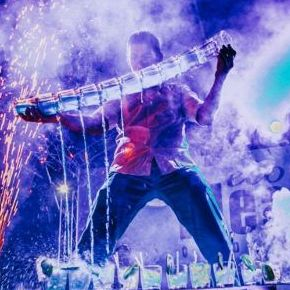 Александр Гребенюк - Оригинальный жанр или шоу , Киев,  Бармен шоу, Киев Фаер шоу, Киев