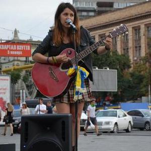 Таисия - Музыкант-инструменталист , Днепр, Певец , Днепр,  Гитарист, Днепр Кавер певец, Днепр