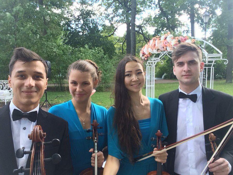 Струнный квартет LUDOWIG - Музыкальная группа Ансамбль  - Санкт-Петербург - Санкт-Петербург photo