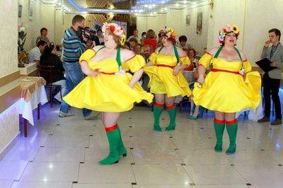 """Шоу балет толстушек """"ЦЫПАчки"""" - Танцор Комик  -  -  photo"""