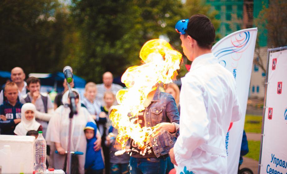 Научное шоу для детей - Аниматор Организация праздников под ключ  - Москва - Московская область photo