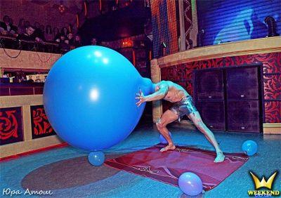 Человек -шар - Танцор Оригинальный жанр или шоу  - Одесса - Одесская область photo
