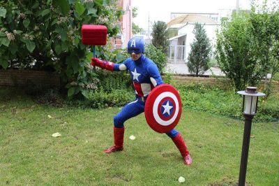 Капитан Америка - Клоун Комик  - Одесса - Одесская область photo