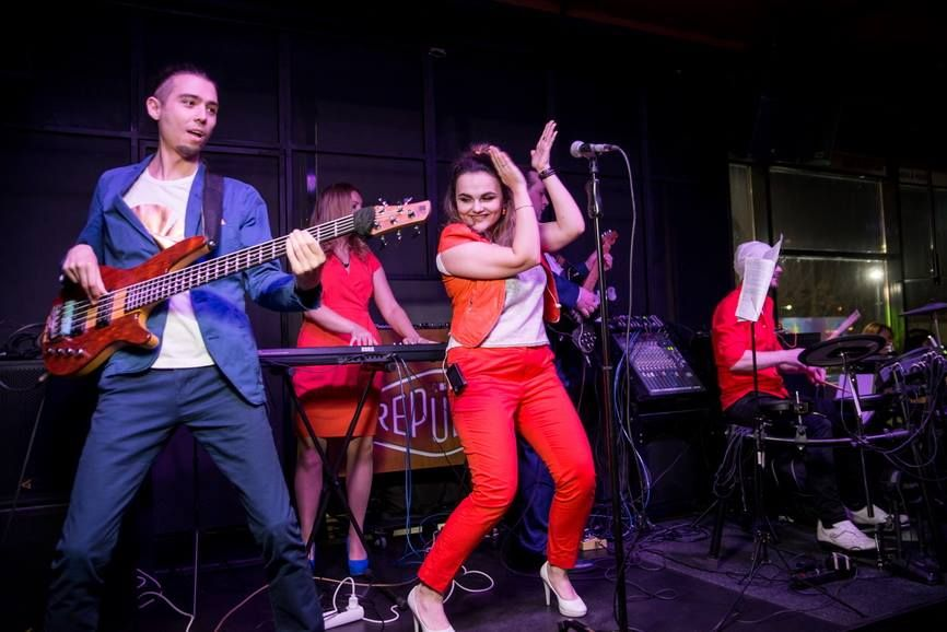 Heatweavers (Хитвиверс) Party Band - Музыкальная группа Прокат звука и света  - Киев - Киевская область photo