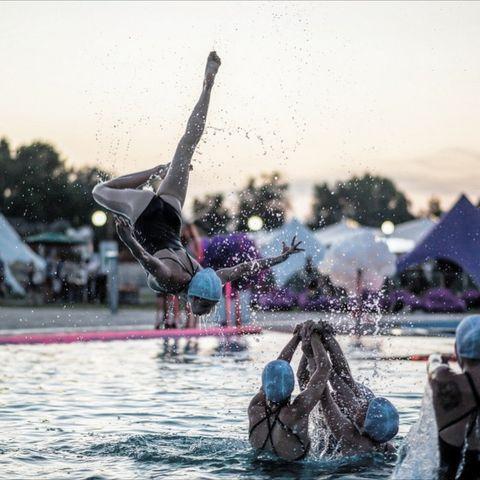 Закажите выступление Шоу балет на воде Mermaids на свое мероприятие в Киев