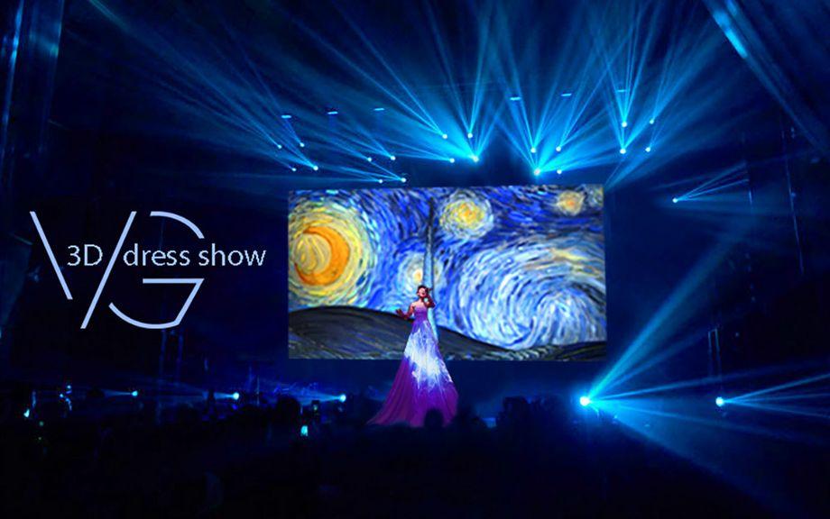 Шоу 3D платья - Музыкант-инструменталист Певец Оригинальный жанр или шоу  - Киев - Киевская область photo
