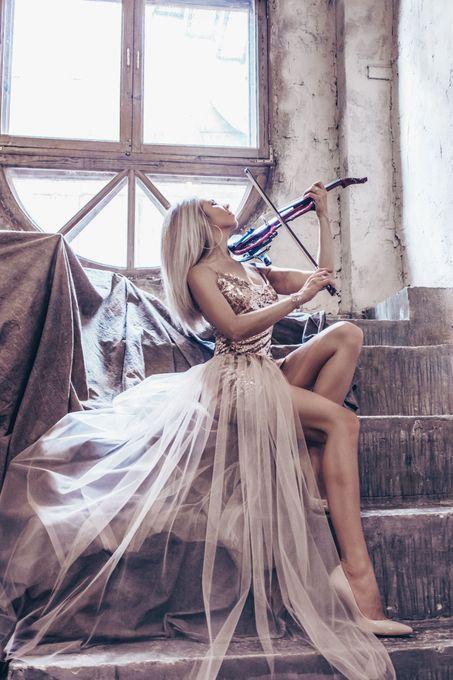 Скрипачка Елена Тарлинская - Музыкант-инструменталист  - Москва - Московская область photo