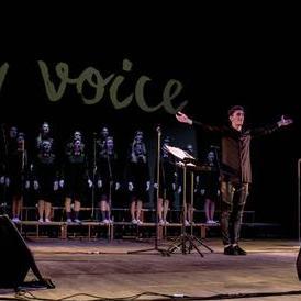 """Эстрадный хор Микаэля Киладзе """"New Voice"""" - Певец , Одесса,  Джаз певец, Одесса"""