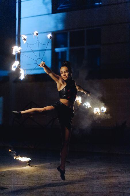 Вогняне шоу Нікалекс фаєршоу - Оригинальный жанр или шоу  - Львов - Львовская область photo