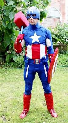 Капитан Америка - Клоун , Одесса, Комик , Одесса,