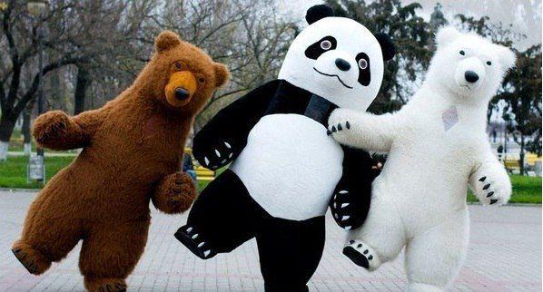 Саша и Гигантские Медведи MEDVED SHOW - Певец Аниматор  - Москва - Московская область photo