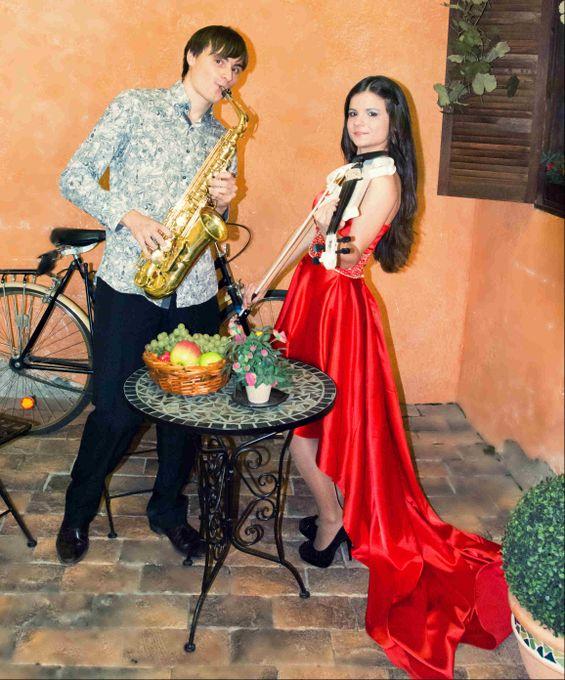Скрипка и саксофон Reforte - Ансамбль Музыкант-инструменталист  - Москва - Московская область photo