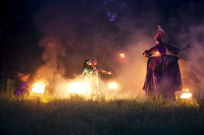 Театр огненных легенд Salamandra  - Оригинальный жанр или шоу  - Москва - Московская область photo
