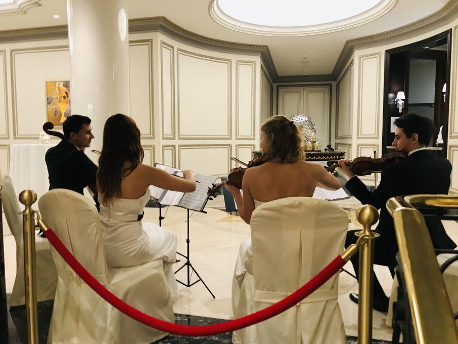 Струнный квартет LUDOWIG - Музыкальная группа Ансамбль Музыкант-инструменталист  - Санкт-Петербург - Санкт-Петербург photo