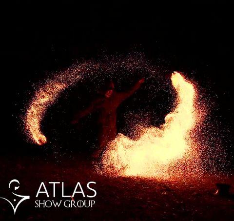 """Огненно-пиротехническое шоу """"Atlas show"""" - Оригинальный жанр или шоу , Днепр,  Фаер шоу, Днепр"""