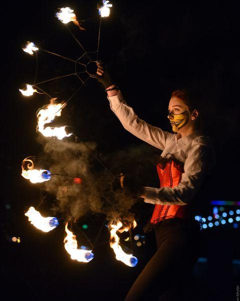 """Закажите выступление Театр Огня""""Incognito"""" на свое мероприятие в Запорожье"""