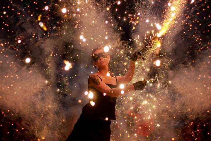 Театр огня Phantom - Оригинальный жанр или шоу  - Киев - Киевская область photo