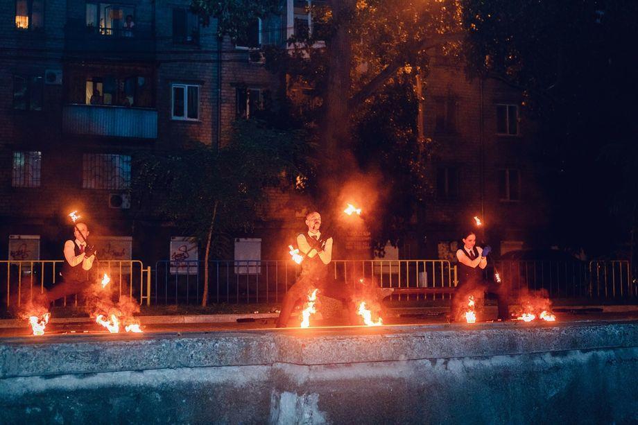 фаєр шоу Еволюція -  - Днепр - Днепропетровская область photo