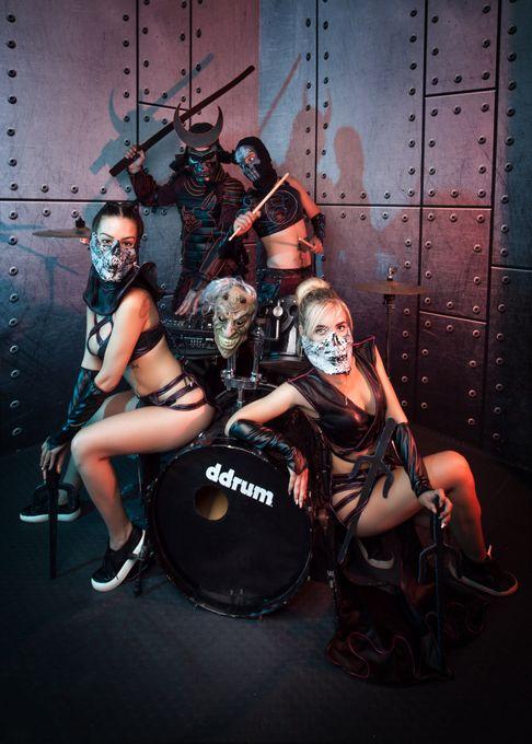 Led & Drum Show Samurai - Ди-джей Оригинальный жанр или шоу  - Киев - Киевская область photo