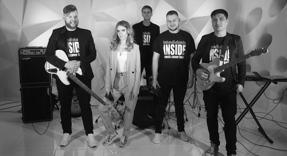 """COVER BAND """"INSIDE"""" - Музыкальная группа Ансамбль  - Днепр - Днепропетровская область photo"""
