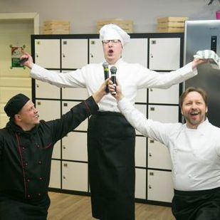 """Закажите выступление Оперное шоу """"Шеф-повар и команда"""" на свое мероприятие в Москва"""