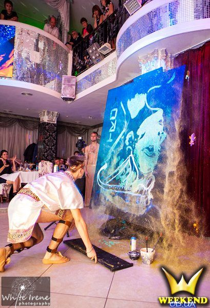 SHOW Танцующий художник Геннадий Цветков - Танцор Оригинальный жанр или шоу  - Одесса - Одесская область photo