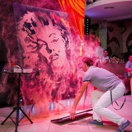 SHOW Танцующий художник Геннадий Цветков - Танцор , Одесса,  Современный танец, Одесса
