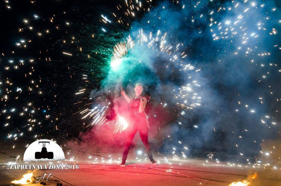 Творческая фаер группа М.И.Ф. - Оригинальный жанр или шоу Декорирование  - Запорожье - Запорожская область photo