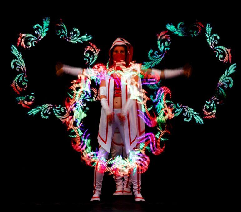 """Театр огня и света """"Ortus"""" - Оригинальный жанр или шоу  - Киев - Киевская область photo"""