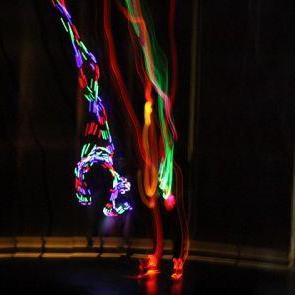 Жонглер, неоновий жонглер - Оригинальный жанр или шоу , Львов,