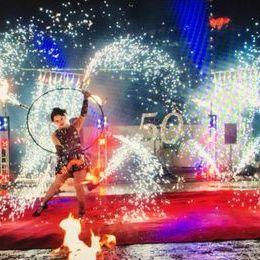 Огни в городе - Оригинальный жанр или шоу , Москва,  Фаер шоу, Москва