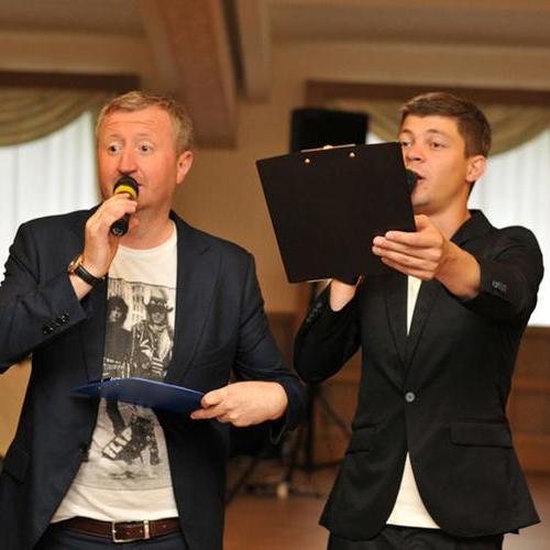 """Закажите выступление """"Непьющие ведущие"""" на свое мероприятие в Киев"""