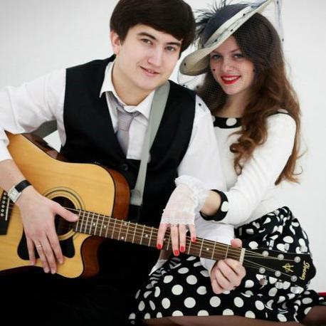 Закажите выступление Дуэт в составе вокала и гитары на свое мероприятие в Киев