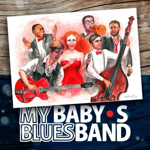 Закажите выступление MY BABY`S BLUES BAND на свое мероприятие в Москва