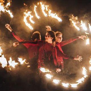 Dragonfly - Оригинальный жанр или шоу , Киев,  Фаер шоу, Киев