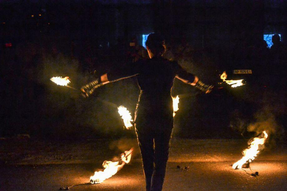 """Фаер шоу Art group """"Fire Stream"""" - Оригинальный жанр или шоу  - Запорожье - Запорожская область photo"""