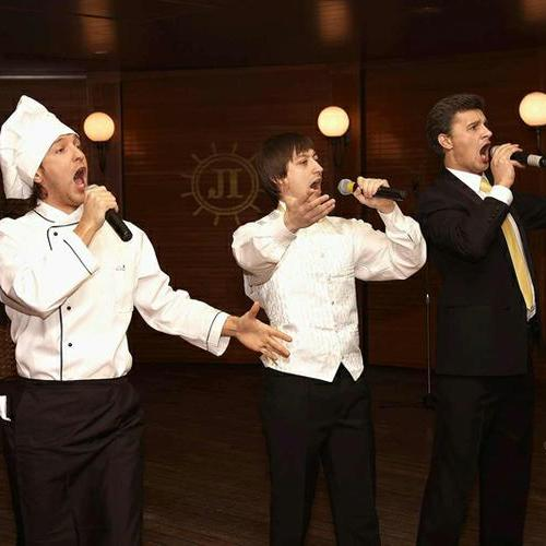Поющие официанты - Оригинальный жанр или шоу , Москва,